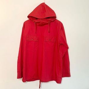 Engineered Garments NY Red Cagoule Shirt